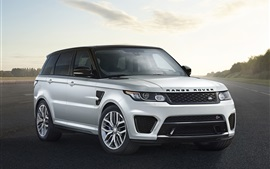Preview wallpaper 2015 Range Rover Sport, Land Rover SUV car