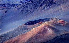 Aperçu fond d'écran Haleakala, Maui, volcan, montagne, Hawaii