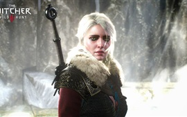 The Witcher 3: Wild Hunt, la muchacha del pelo blanco