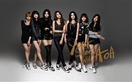 Preview wallpaper AOA, Korean music girls 03