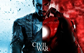 Aperçu fond d'écran Captain America: Civil War HD