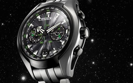 Preview wallpaper Citizen watch, metallic feel