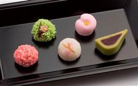Sobremesas, gourmet, produtos de confeitaria japonesa