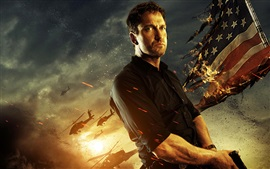 Preview wallpaper Gerard Butler, Olympus Has Fallen
