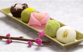 Preview wallpaper Japan snacks, Japanese confectionery