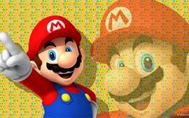 预览壁纸 任天堂游戏,超级马里奥