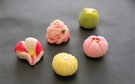 Preview wallpaper Tasty snacks, Japanese confectionery