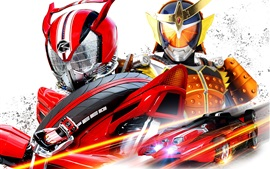 Kamen Rider серии, японский мультфильм