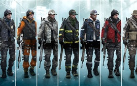 Preview wallpaper Tom Clancy's The Division, Xbox game