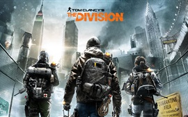 Preview wallpaper Tom Clancy's The Division, game widescreen