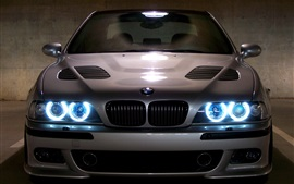 BMW E39 M5 azul angel eyes