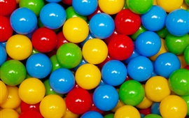Preview wallpaper Colorful play balls