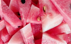 Preview wallpaper Cool and delicious, juicy watermelon slice, summer fruit