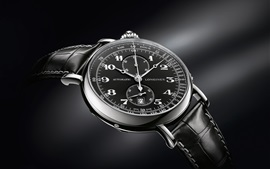 Longines Avigation watch, black style