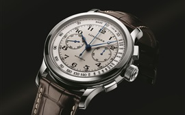 Preview wallpaper Longines Lindbergh watch