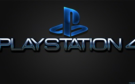 Preview wallpaper Playstation 4 logo, Sony