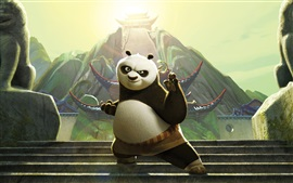 Preview wallpaper Po in Kung Fu Panda 3
