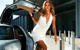 Preview wallpaper Rosie Huntington-Whiteley 07