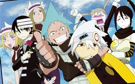Preview wallpaper Soul Eater, anime, cartoon