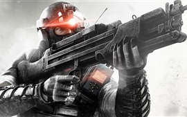 Preview wallpaper Splinter Cell: blacklist, weapons, soldier