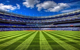 Preview wallpaper Sport stadiums, football, lawn