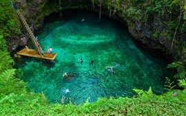 Preview wallpaper To Sua Ocean Trench in Samoa