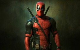 Preview wallpaper 2016 Deadpool movie HD