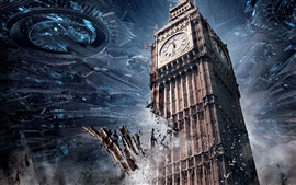 Preview wallpaper 2016 Independence Day: Resurgence, London, Big Ben