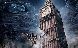 2016 Día de la Independencia: Resurgimiento, Londres, el Big Ben