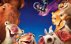 Preview wallpaper 2016 movie, Ice Age 5