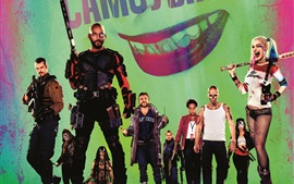 Preview wallpaper 2016 movie, Suicide Squad