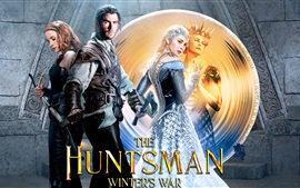 Aperçu fond d'écran 2016 film, The Huntsman: War Winter