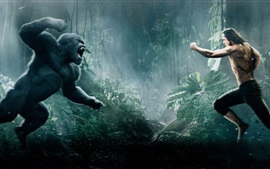 Preview wallpaper 2016 movie, The Legend of Tarzan