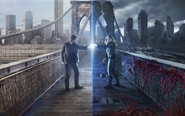 Preview wallpaper Aaron Stanford, Amanda Schull, 12 Monkeys