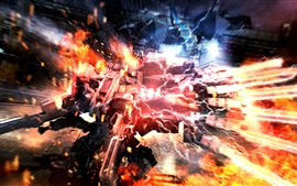 Preview wallpaper Armored Core 5 PS game