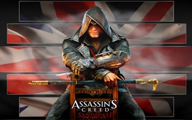 Assassin 's Creed: Syndicate, tueur assis sur une chaise