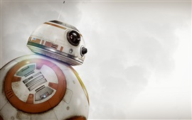 Preview wallpaper BB-8 robot, Star Wars: The Force Awakens