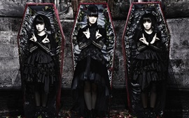 Preview wallpaper Babymetal, Japanese girls group 02