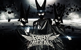 Preview wallpaper Babymetal, Japanese girls group 03