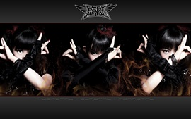 Preview wallpaper Babymetal, Japanese girls group 05