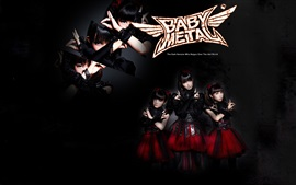 Preview wallpaper Babymetal, Japanese girls group 06