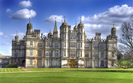 Preview wallpaper Burghley House, travel to England