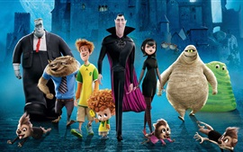 Preview wallpaper Cartoon movie, Hotel Transylvania 2