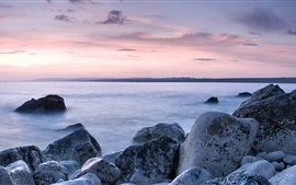 Chesil Beach, coast, rocks, Portland, Dorset, England, UK