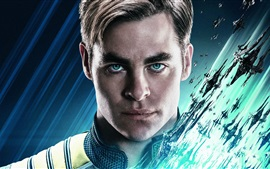Preview wallpaper Chris Pine as Kirk, Star Trek Beyond
