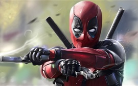Preview wallpaper Deadpool 2016, art pictures
