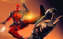 Preview wallpaper Deadpool, Marvel comics superhero