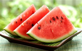Preview wallpaper Delicious watermelon pieces