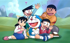 Preview wallpaper Doraemon, classic anime