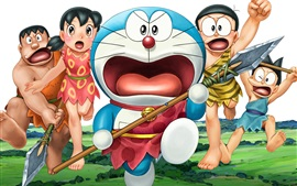 Preview wallpaper Doraemon, primitive
